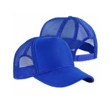 Custom Bright Blue 3D Embroidery Baseball Cap