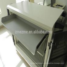 ZMEZME nuevo diseño de bajo precio tableta de carga de carro con armario, 40 puerto usb hub de carga carro / gabinete