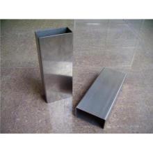 201 Grau Tubulação de aço inoxidável (tubo retangular)