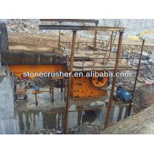Steinbrecher Produktionslinie