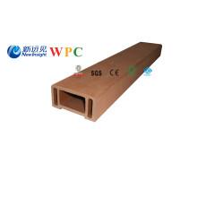 Main courante en plastique en bois de WPC de 90 * de 45mm