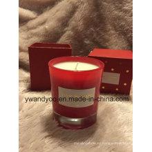 Романтические ароматические свечи, установленные как свадебный подарок