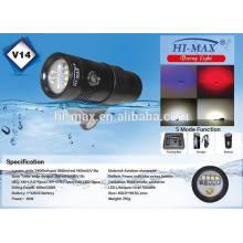 Gran oferta llevó iluminación de vídeo de buceo 5600lm / LED 5200lm