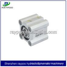 Cilindro pneumático telescópico compacto SMC CQ2 Series