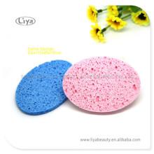 Esponja de celulosa comprimido para la limpieza y baño