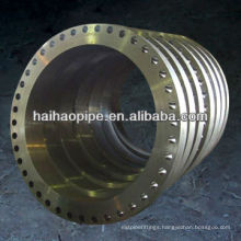 astm a106 carbon steel loose hubbed flange