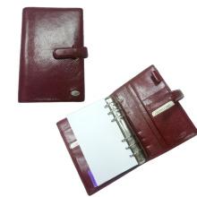 Pasta de arquivo com anel de metal, Titular de cheque de titular de caneta (EN-303)