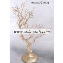 Free sample for for Artificial Dry Tree Branch Plastic Wedding Crystal Beaded Tree Centerpieces In Bulk supply to Nepal Factories