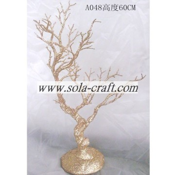 Plastic Wedding Crystal Beaded Tree Centerpieces In Bulk