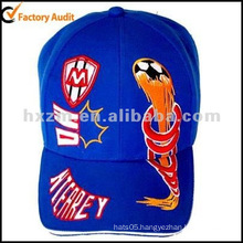 snapback embroidery baseball cap