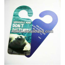 No Disturb Hotel Door Hang Tag with Strong