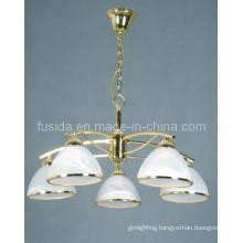 2012 Popular Classical Glass Chnadelier Pendant Light (D-8150/5)