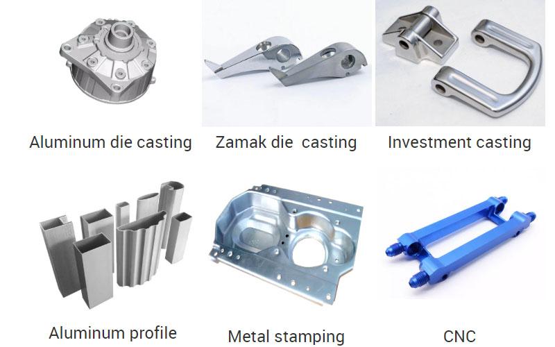 CNC hardware