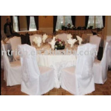 100% Polyester fabric Chair Cover, Banquet Chair Cover, Hotel Chair Cover