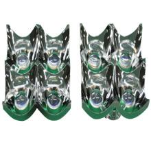 Galvanisieren Aluminium-Kunststoff-Lichtabdeckung