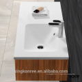 KKR Marbre acrylique salle de bain creux évier