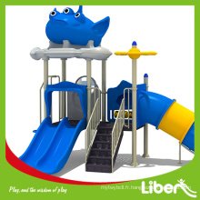 Aire de jeux en plein air colorée, équipement pour parc d'attractions LE.XK.014
