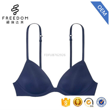 Stylish xxx hot sex sexy very hot new design high quality simple 3/4 cup women underwear and womens bra of bra pictures