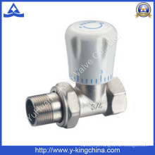 Válvula de radiador termostática de latão de ângulo (YD-3007)