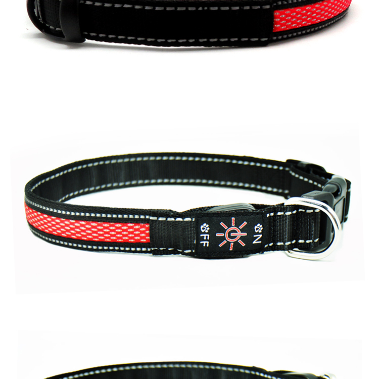 Flashing Led Dog Collar Usb