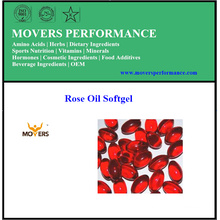 High Quality Pure Extracts Rose Oil Softgel