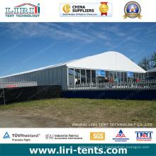 Tentes de dôme de toit en arc de 30 x 50 m aux Émirats arabes unis pour l'événement et la fête