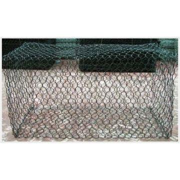 PVC-beschichtete Sechskant-Mesh-Gabion-Körbe (anjia-123)