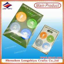 Runder preiswerter Druck-Blech-Abzeichen-Knopf-Abzeichen mit schneller Anlieferung
