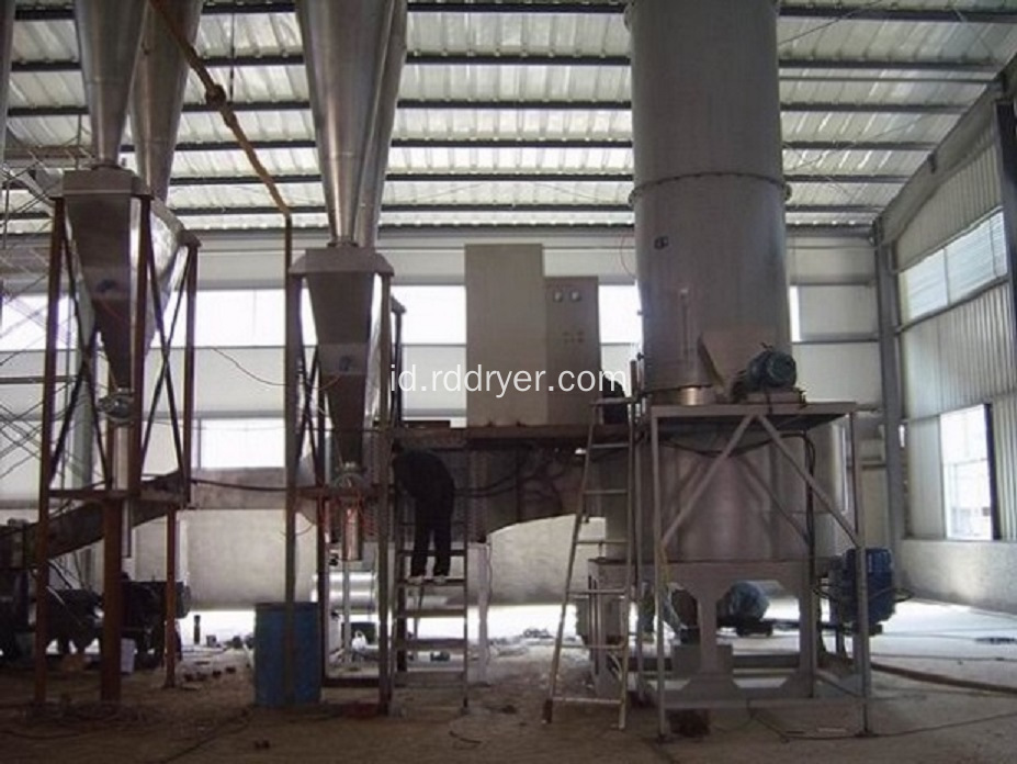 Ultramarine Rotary Spin Flash Dryer Machinery