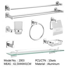Stainless steel SUS 304 bathroom accessory soap dish, towel bar, tissue holder, storage shelf and hook