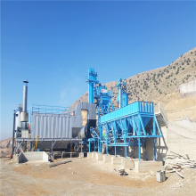Low Price  Mobile asphalt Plant Operation