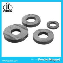 Aimant en anneau de ferrite en céramique de segment dur