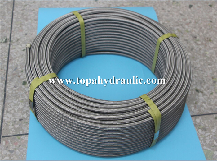 Italy robust high pressure braided hose China Manufacturer