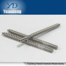 Custom made Taiping Dual Thread Screw by stainless steel AISI 304