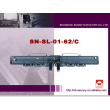 Design parfait philosophie sécuritaire et stable centre ouverture système de porte d'ascenseur