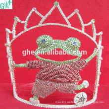 Movimiento encantador de la corona, corona de tiara de plástico