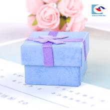 caja de embalaje de joyas blancas cajas de presentación de joyas baratas al por mayor