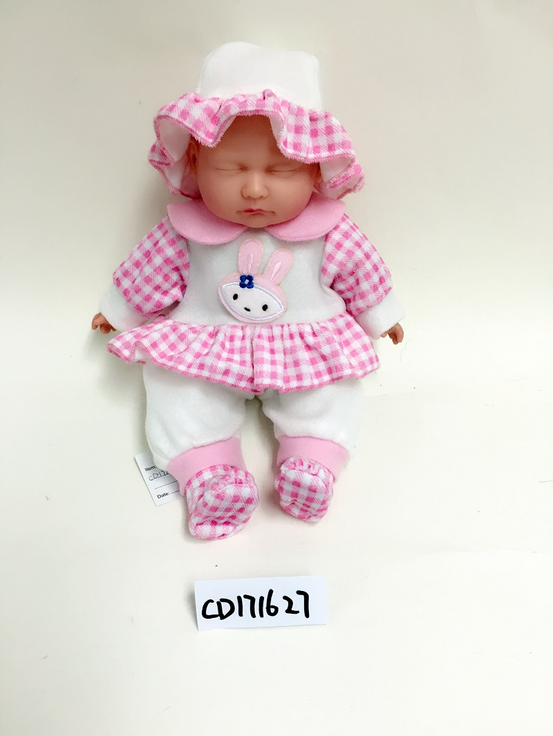 Cap baby sleeping doll