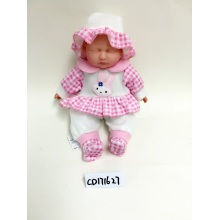 "18 ""Baby Vinyl Doll Rose Cap"
