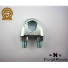 Type de clip de câble métallique malléable Type US sont des accessoires de câble métallique électro-galvanisé de haute qualité