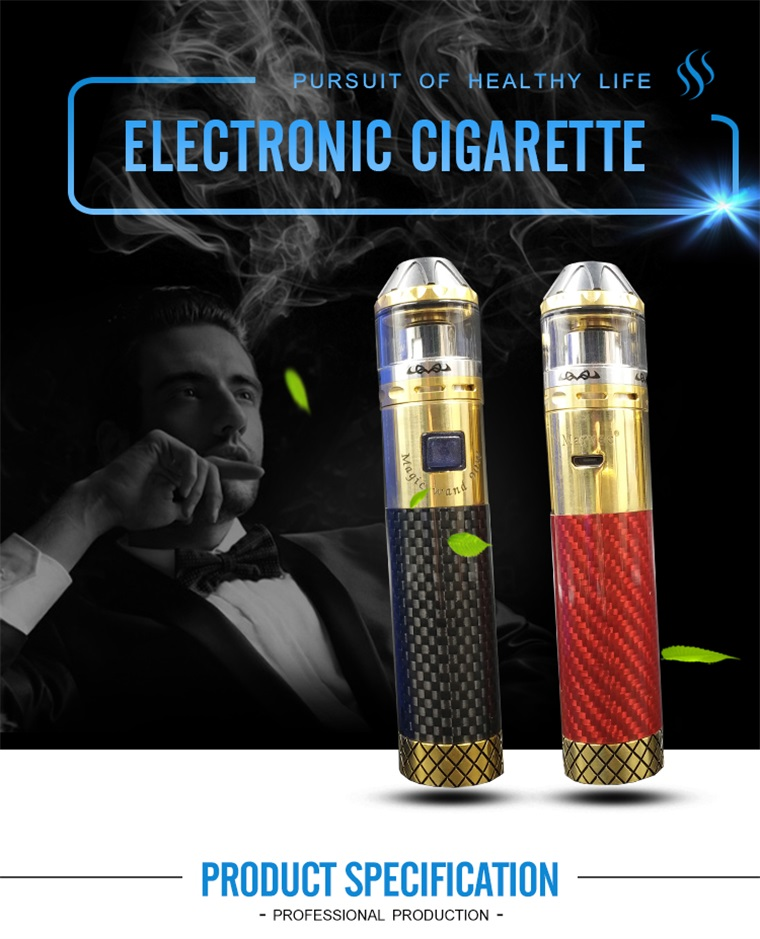 Single 18650 stylo vape starter kits de démarrage