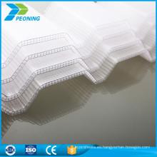twinwall pc Tapa de plástico corrugado