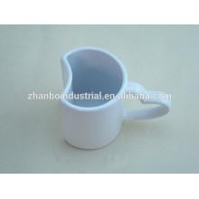 Tasse à café et soucoupes de conception spécial en porcelaine Fabricants de Shandong