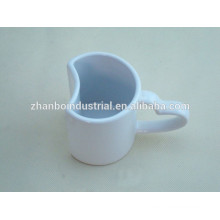 Porcelain special design coffee cup and saucer Shandong manufacturers