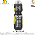 Portable BPA frei PE Kunststoff Trinksport Wasserflasche (HDP-0697)