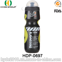 2017 Best Sale BPA Free Plastic PE Running Sports Water Bottle (HDP-0697)
