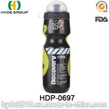 2017 Melhor Venda BPA Livre de Plástico PE Correndo Esportes Garrafa de Água (HDP-0697)