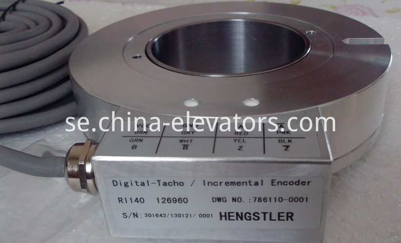 Incremental Encoder for Schindler 300P Elevator P420 Traction Machine