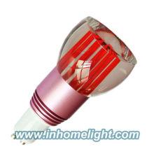 2013 Nouvelle arrivée 3 W led spot light RGB bulbe led GU10