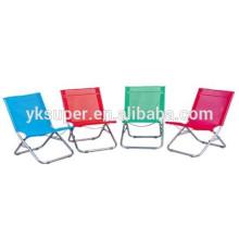 Cadeira de espreguiçadeira cadeira de praia portátil cadeira de espreguiçadeira de praia dobrável